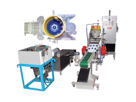 Automated Disc Finishing System